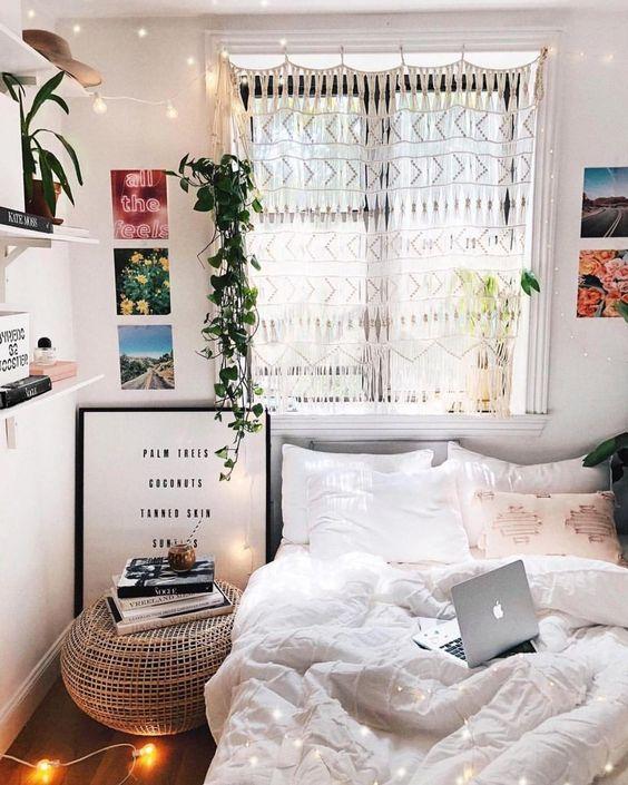 40 cool ideas bedroom lighting home bedroom decor dorm room rh pinterest ca