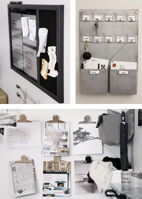 Black, white and grey. Activities, information and essentials in their respective areas. (Granit, Sweden)