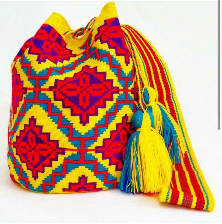 Wayuu Mochila Single Thread