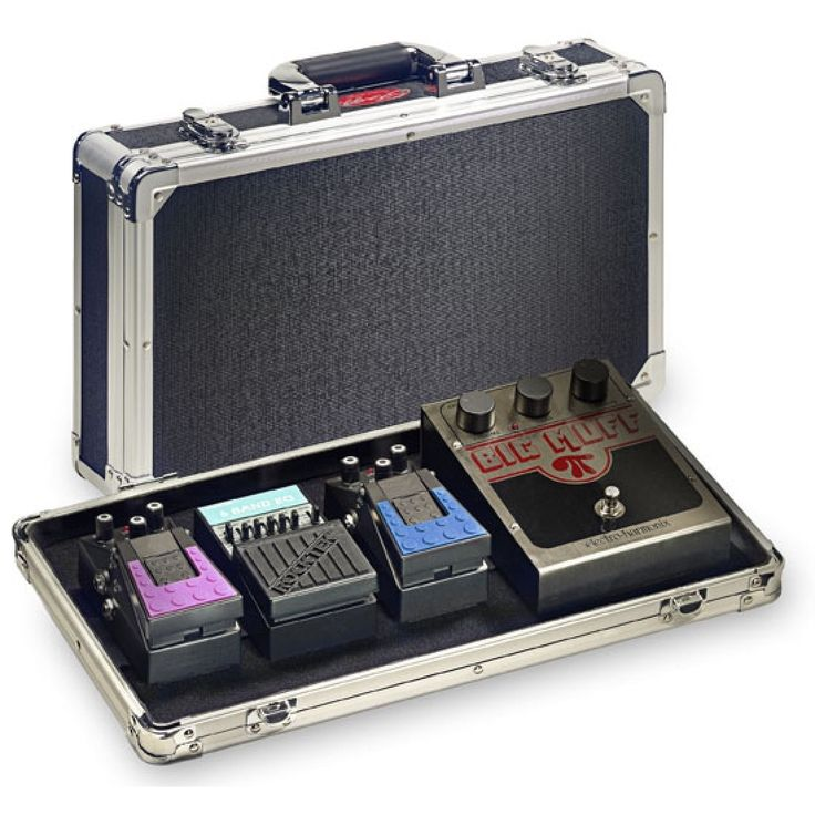 Stagg ABS Small Guitar Effect Pedals Hard Case