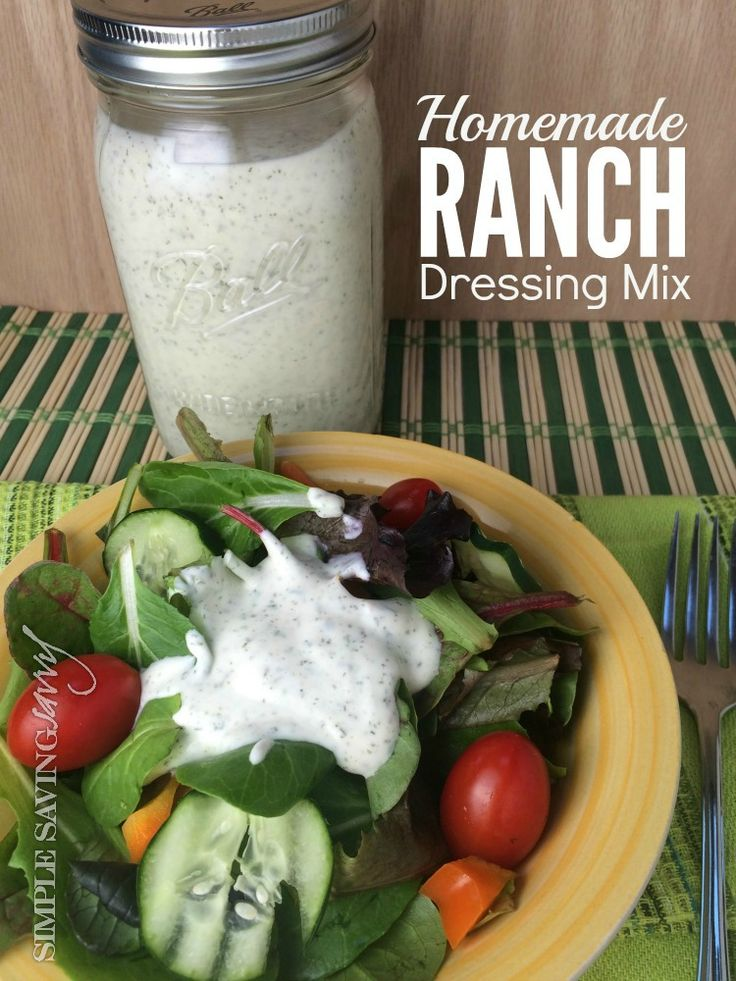 Who doesn't love Ranch dressing? I mean, it's so yummy! And it has so many uses, kinda like a swiss army knife. It is quite versatile. You can use it as a dressing, a dip, a condiment, a seasoning. About a year or so ago, I started making my own Homemade Ranch Dressing Mix and I'm sharing my recipe with you!