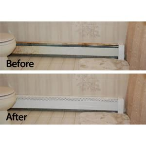 Hot Water Hydronic Baseboard Cover Not For Electric