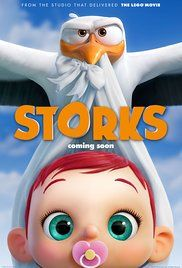OMG, I think I just fell in love with the big-eyed bebies in this movie!! Storks . Coming October 2016.