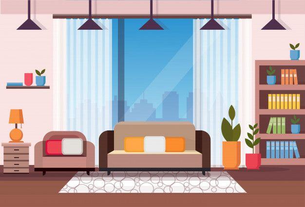 Modern Living Room In 2020 Modern Room Home Decor