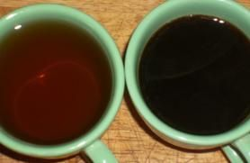 Using diluted coffee as fertilizer. I've been doing that for a few years & my plants I do it with are huge & thriving!