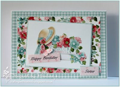 Crafting with Cotnob, Digital, Family Birthday, Floral, Idyllic, NitWit Collections
