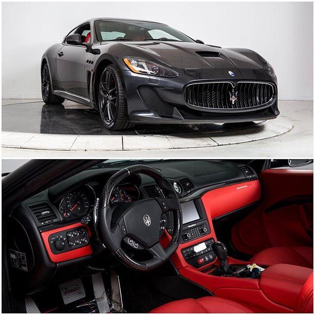 Instagram media by dupontregistry - 2016 Maserati GranTurismo for sale by @ferrari_maserati_longisland for $173,245 on #dupontregistry