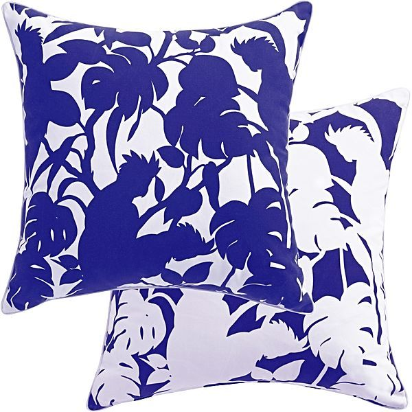 Cockatoos Outdoor Cushion