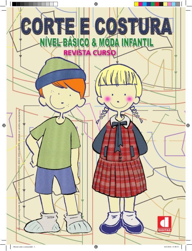Corte e Costura Nivel Básico & Moda Infantil para baixar (gratuito)