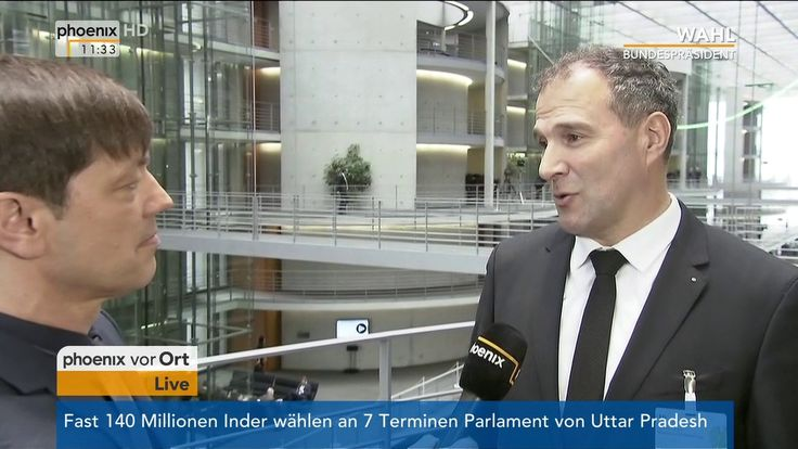 Wahl des 12. Bundespräsidenten: Alexander Hold im Interview am 12.02.2017