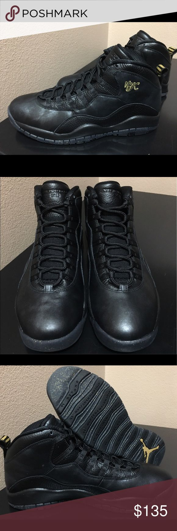 """Air Jordan 10 """"NYC"""" Brand new/Never Worn. Great add to any collection. Very high quality and nice details all around. Jordan Shoes Sneakers"""