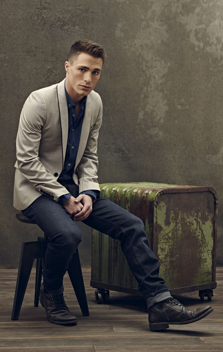 Arrow - New Promo Pics - Colton Haynes (Roy Harper)