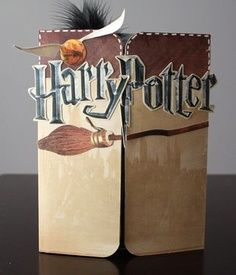 Harry Potter Scrapbook Layouts | Harry-Potter-Cover