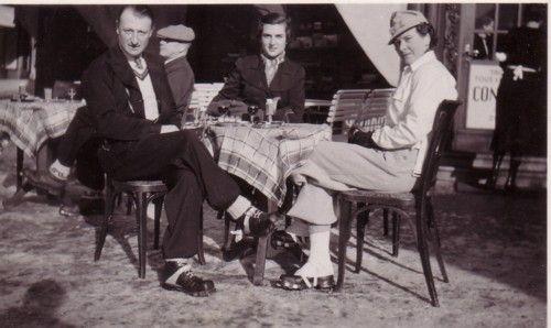 St. Moritz, 1930s http://thevintagetraveler.wordpress.com/2012/01/15/ski-report/