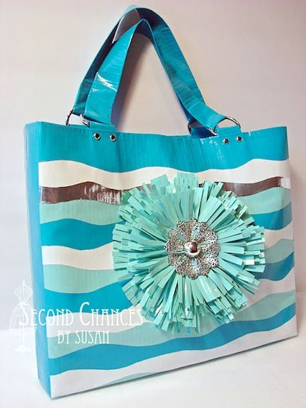 17 Duct Tape Craft Ideas
