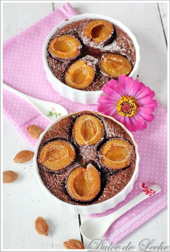Dulce de Leche: Čokoládovo slivkové clafoutis