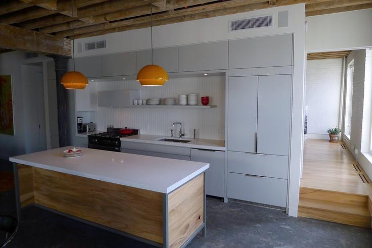 Brooklyn Loft Kitchen by Studio db