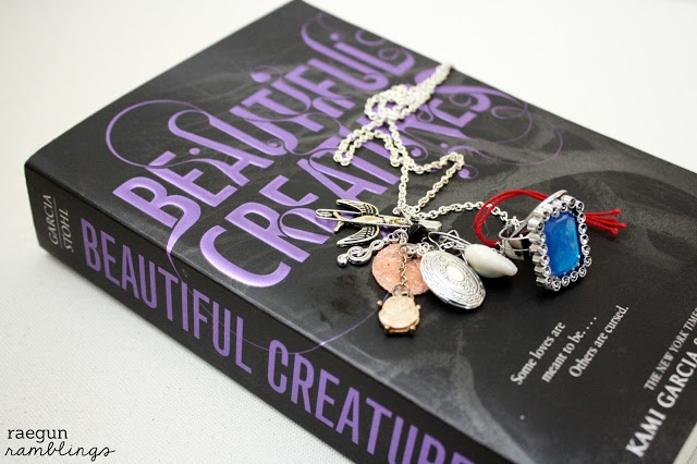 Beautiful Creatures Series Books Review and Lena Duchannes Necklace Tutorial - Rae Gun Ramblings