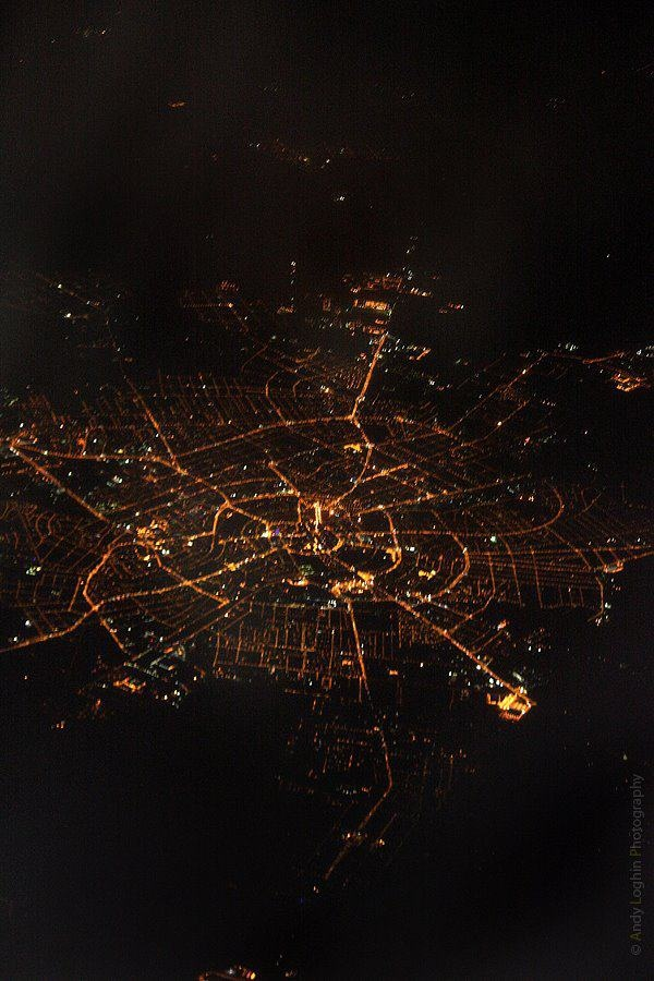 Timisoara city at night