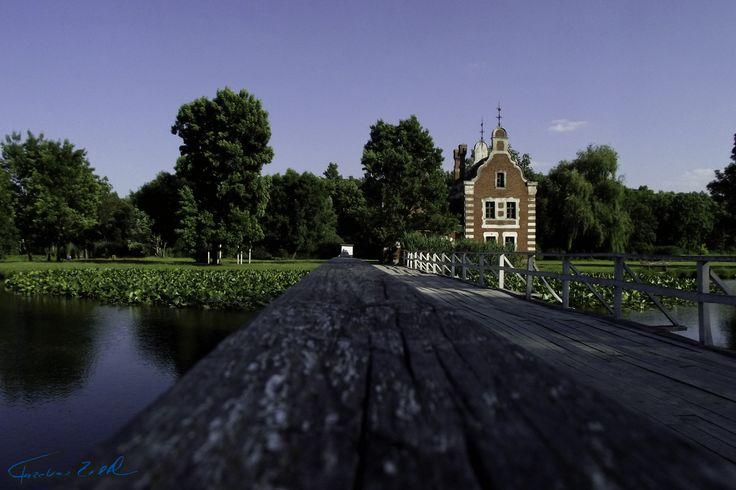 Hollandi-ház a hídról, Festetics-kastély, Dég