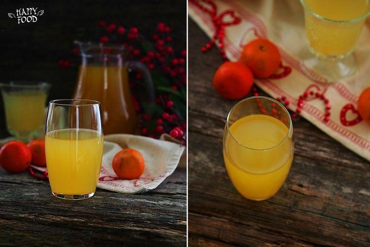 Лимонад из апельсиновой кожуры - Lemonade from orange peel - HAPPYFOOD