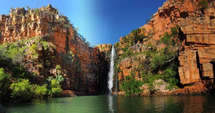 Waterfall in the Berkeley, North East Kimberley