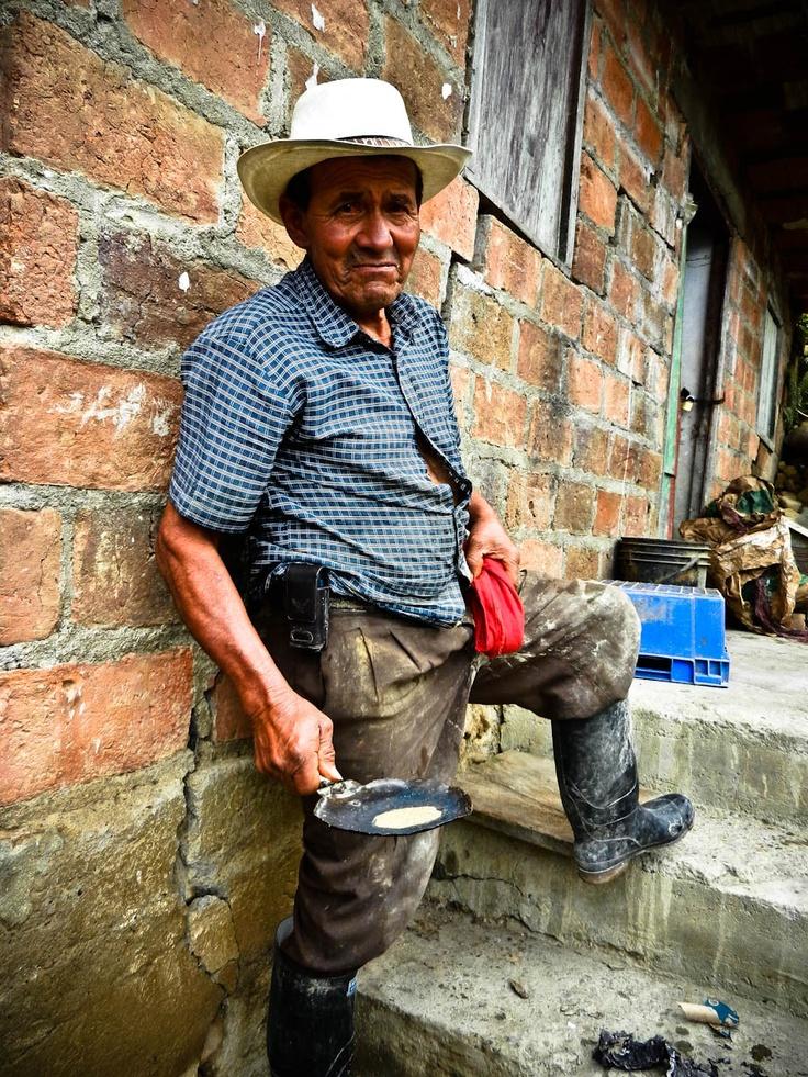 Campesino Gold Miner: Marmato, Colombia