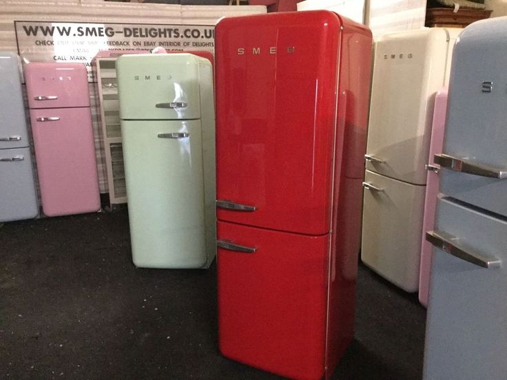 THIS SALE IS NOW FOR A LOVELY GLOSSY RED FAB32 SMEG FRIDGE FREEZER - Rhh with Warranty. The interiors are re-shelved and are super clean! They are ALL RIGOROUSLY TESTED and given our MONEY BACK WARRANTY for your peace of mind. | eBay!