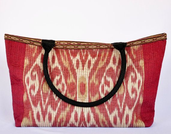 Women handbag Handmade Coach Bag Coach Tote Bag by SilkFashions This completely handmade Ikat bag adds style to any outfit. https://www.etsy.com/listing/262696994/women-handbag-handmade-coach-bag-coach?ref=related-0