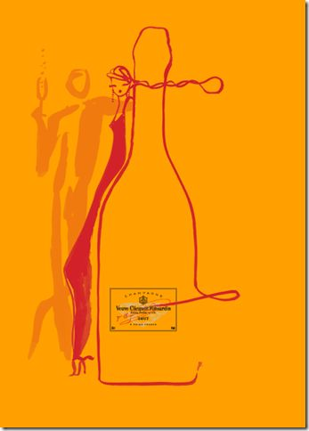 By Florence Deyga & collaboration with Veuve Clicquot champagne, 2 0 0 7.