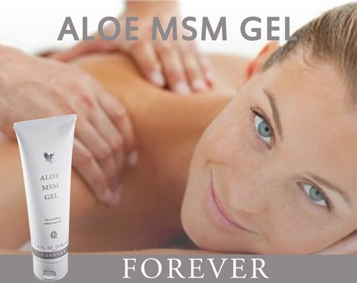 Forever Aloe MSM Gel. Perfekt where the muscle holds. You can mix it with Aloe Heat Lotion. Buy it att www.myaloevera.se/aloeverasweden or at www.go2success.flp.com