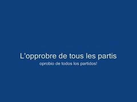 La Marseillaise (Subtitulado en francés y español)