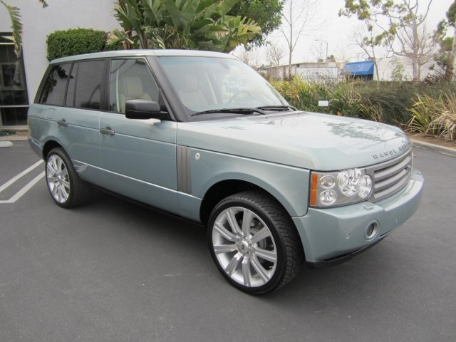 2008 Lucerne Green Land Rover Range Rover HSE Family car! http://www.iseecars.com/used-cars/used-land-rover-range-rover-for-sale