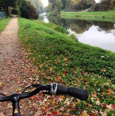 Oder fahre mit einem Fahrrad an der Nidda entlang.   24 Geheimnisse, die Dir Menschen aus Frankfurt am Main nicht verraten
