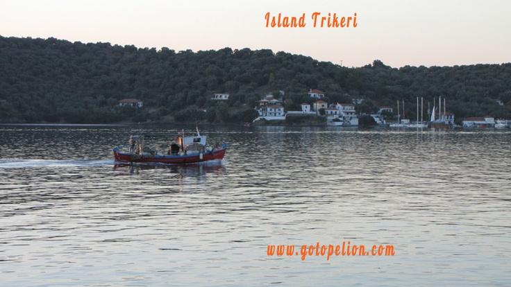 Island Trikeri in Pelion