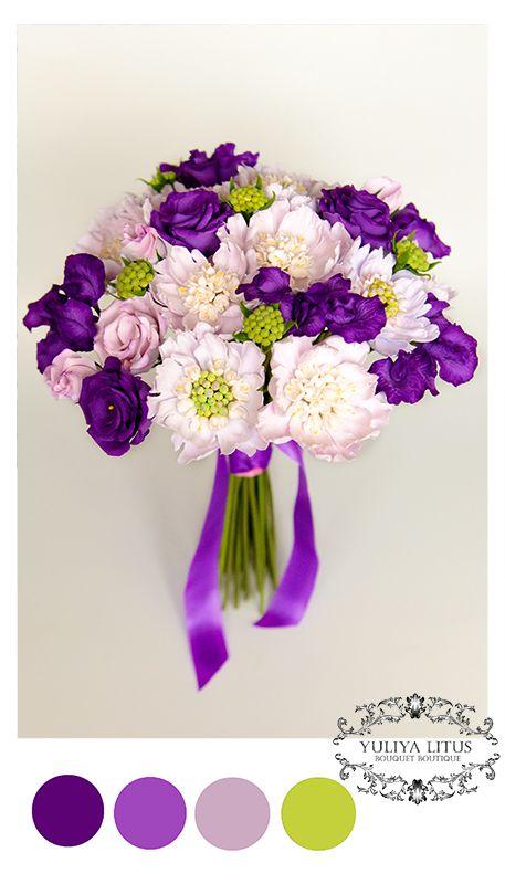 Букет невесты из полимерной глины. Букет невесты, свадебные цветы, цветы из…