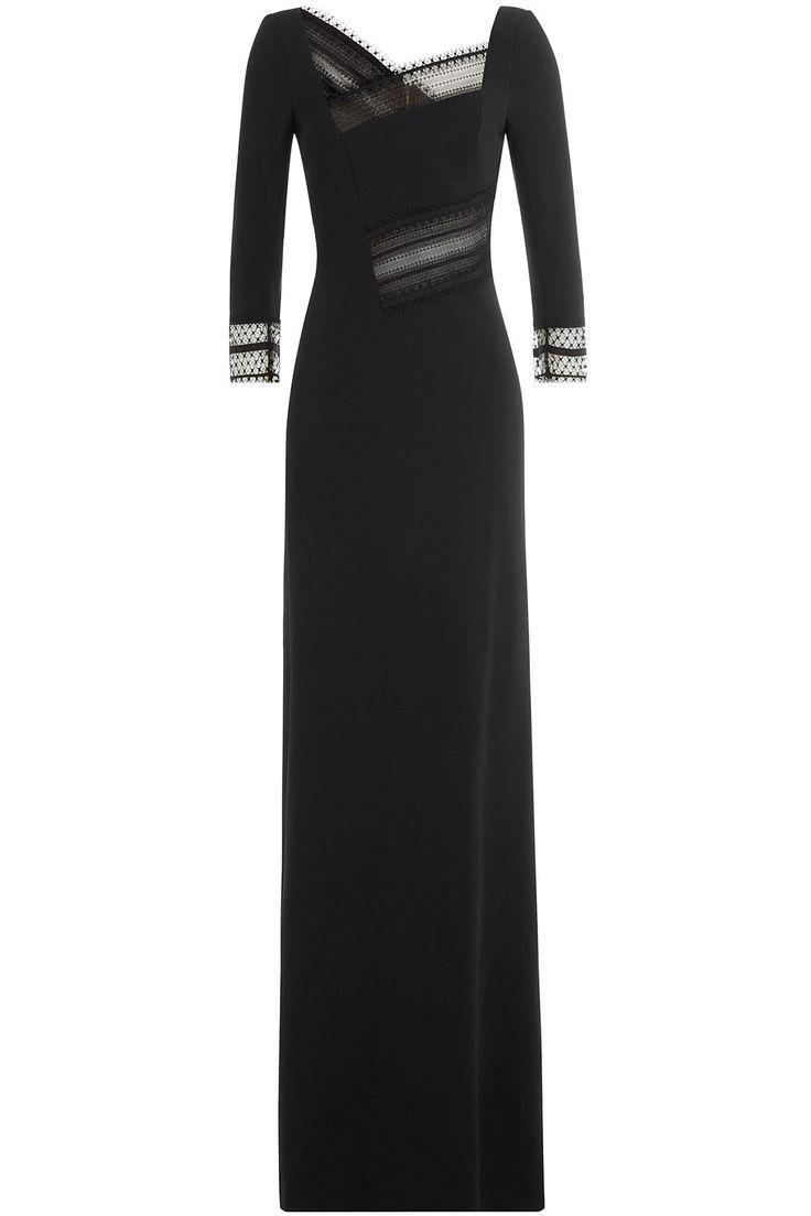 Roland Mouret - Asymmetric Dress with Lace