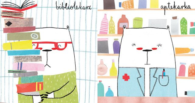 polska ilustracja dla dzieci: Zapowiedź - Robimisie