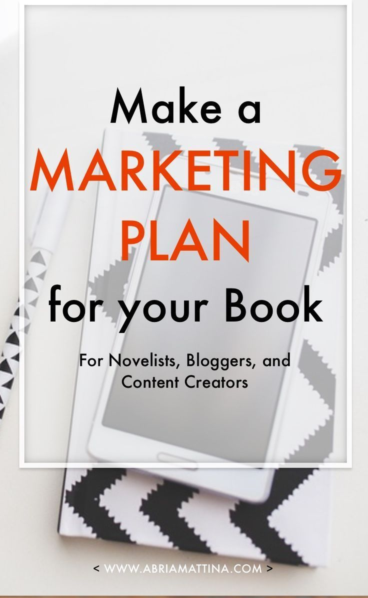 Make a Marketing Plan for your Book: six days, six emails' worth of actionable lessons for developing a marketing plan before you publish.