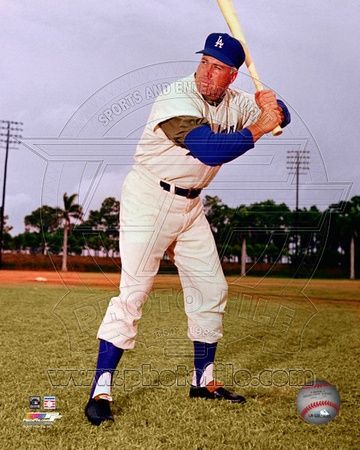 Los Angeles Dodgers - Duke Snider Photo