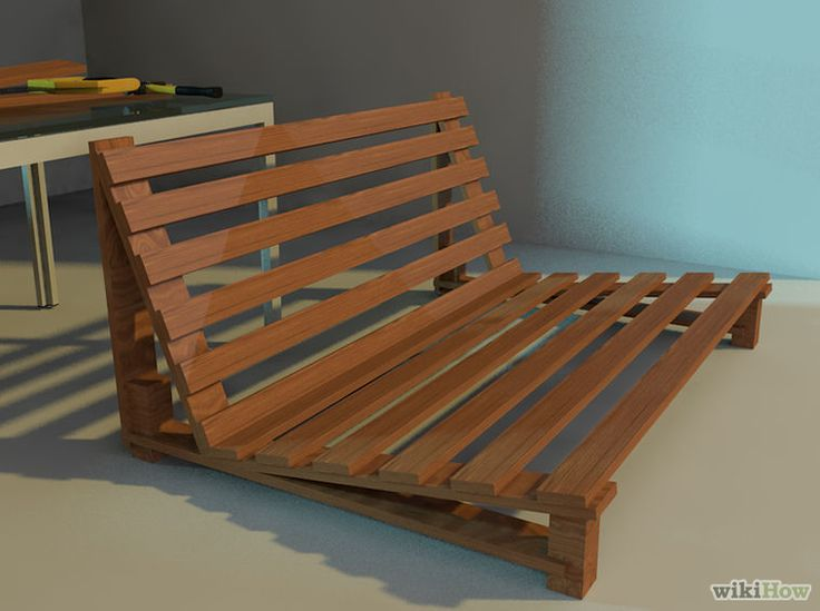 tri fold futon frame instructions