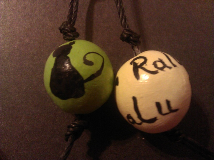 Ralu  Only a cat (clay beads)