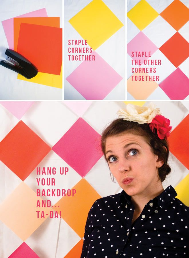Repin for PARTIES! DIY backdrop for dessert tables or photobooths too! #diy