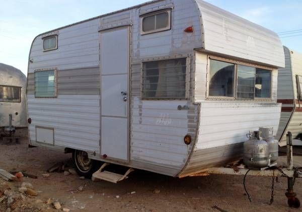 1968 aljo sportman for sale 2800 915 422 5593 my first vintage travel trailer makeover. Black Bedroom Furniture Sets. Home Design Ideas