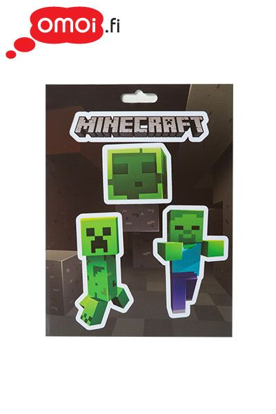 Minecraft Mobs Caves Sticker Pack - 3,90EUR : Manga Shop for Europe, A great selection of anime products