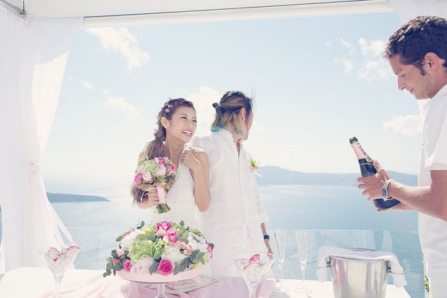 Cheeserland | Santorini Wedding Ceremony