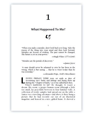 Transform Your Manuscript In Microsoft Word To A Professional Designed Book  Book Template Word