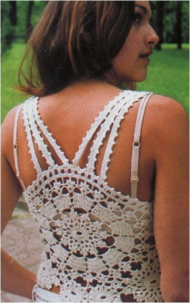 Top 10 Light And Airy Crocheted Summer Tops