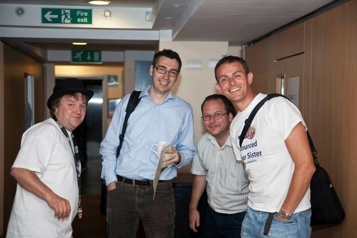 #TruLondon 4, September 2011, The (International) Recruiting Unconference with Bill Boorman (GB), Balazs Paroczay (HU), Etienne Besson (CH) and Johnny Campbell (IE). Good times!