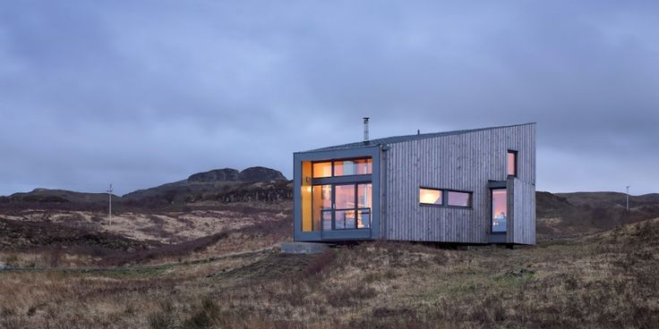 Evening View of Hen House, Isle of Skye